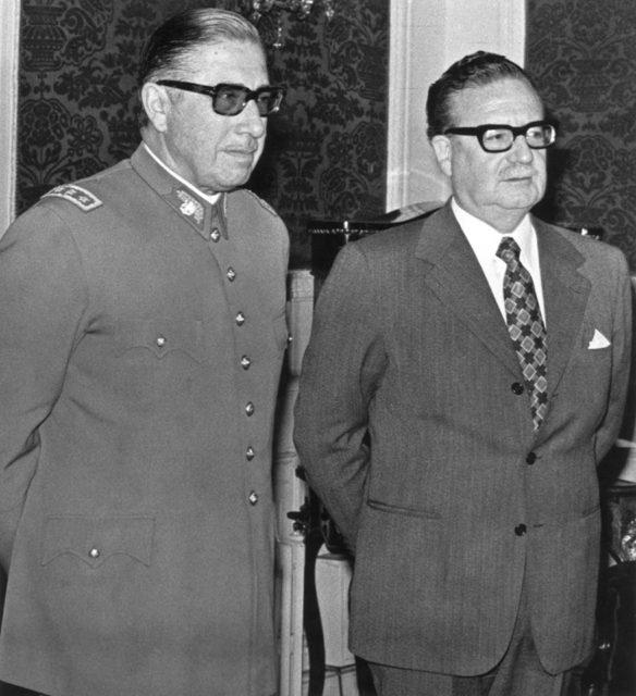 Allende y Pinoshit