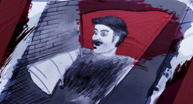 Retrato del compañero Zeki.
